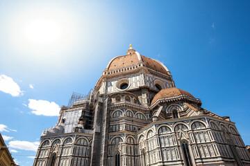 "The main cathedral church of Florence ""Catedral de Santa María del Fiore"""