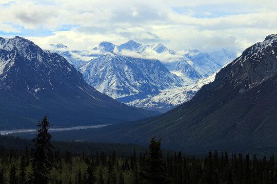 Matanuska Valley in Southcentral Alaska