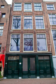 The Anne Frank House and Museum in Amsterdam, Holland
