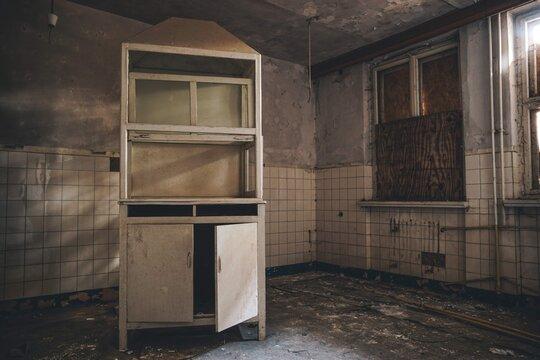 Abandoned buldings in abandoned former soviet military base, Germany