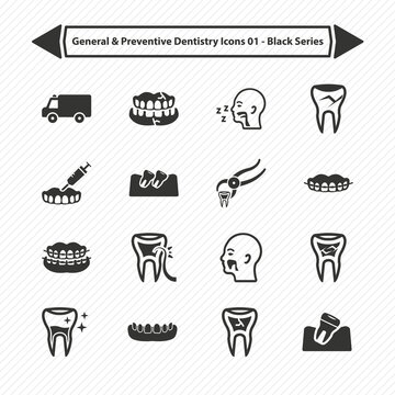 General & Preventive Dentistry Icons 02