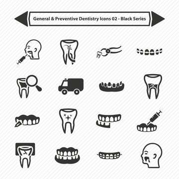 General & Preventive Dentistry Icons 01
