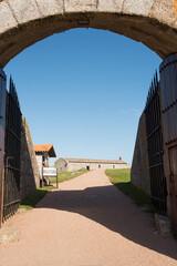 Papiers peints Amérique du Sud Entrance of the Fortress of Santa Teresa, National Historic Monument of Uruguay