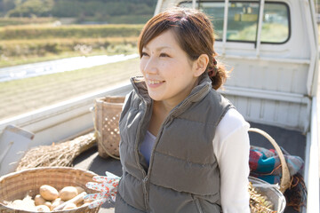 農家の20代女性