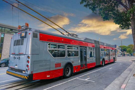 Zero Emissions Vehicle in San Francisco