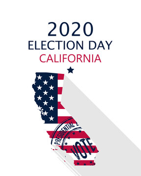 2020 California vote card