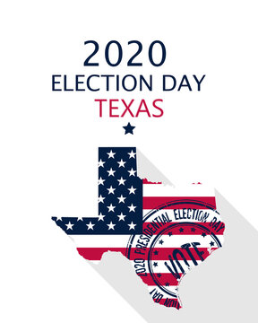 2020 Texas vote card