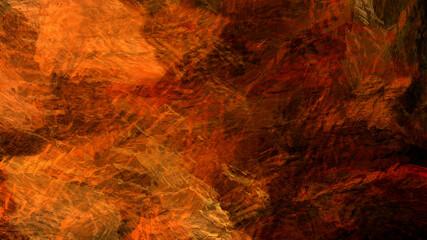Fototapeten Violett rot Abstract painting brush stroke texture rock nature geological underwater atmospheric landscape illustration background