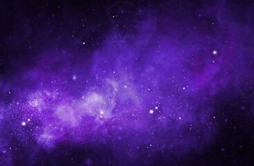 Fototapeten Violett purple cloudy space of night sky with cloud plain dark cloud with space