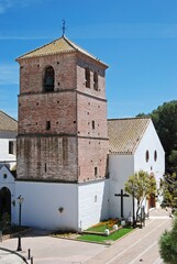 The Immaculate Conception church, Mijas, Andalusia, Spain.