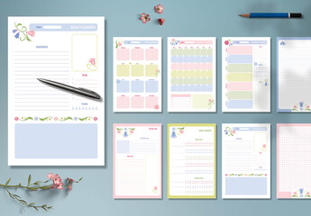 Cute Planner Layout