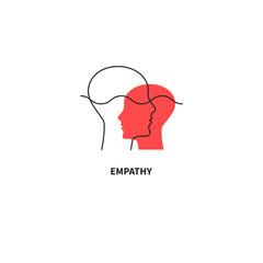 Emotional intelligence logo, coaching icon, teacher sign, coach symbol
