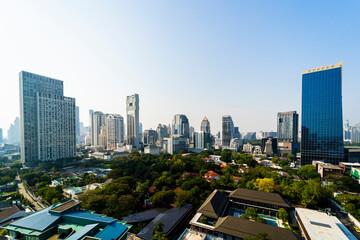 Skyline of Bangkok, Thailand Fotomurales