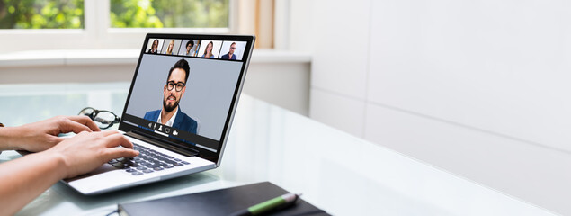 Work From  Home Online Video Conference
