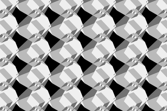 Abstract 3d pattern background illustration