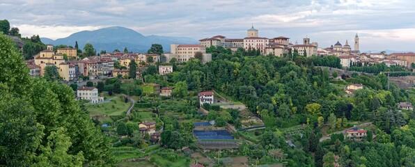 Italien - Lombardei - Bergamo - Altstadt - Panorama