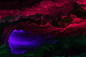 abstract colorful background with water