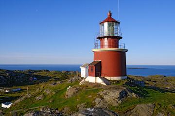Utsira Lighthouse, Utsira Island, Rogaland, Norway