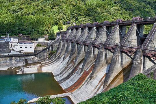 富山県 神通川第二ダム