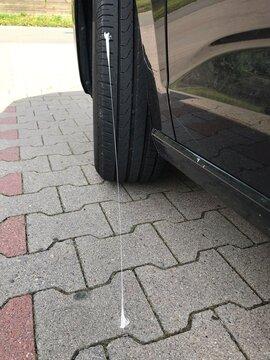 Kaugummi am Reifen