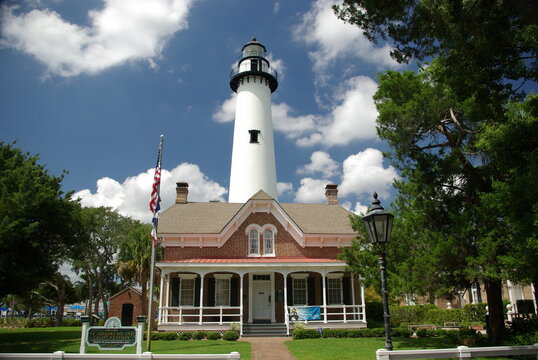St. Simons Island, Lighthouse, Georgia