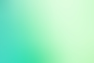 Abstract blurred soft green gradient color background