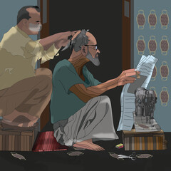 The Old Tailor