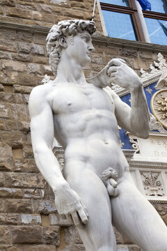 The David sculpture in Florence
