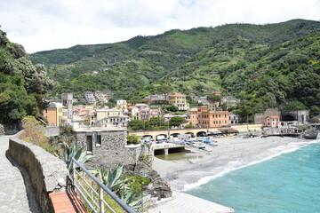 Photo sur Toile Kaki Monterosso Al Mare, Cinque Terre