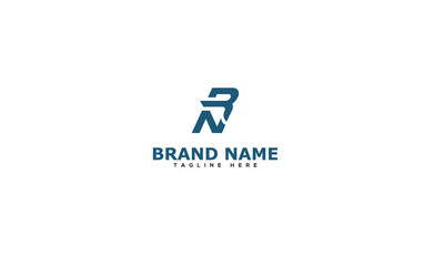 Letter RN logo icon design template elements