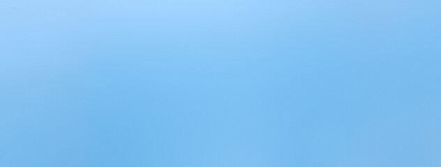 Smooth sky blue color paper banner background