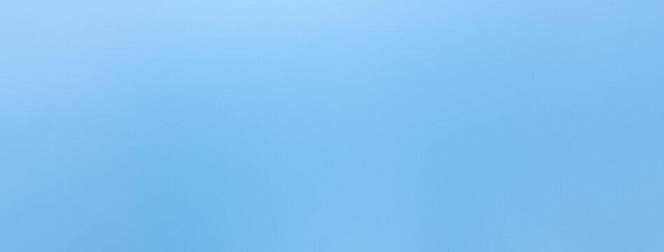 Smooth sky blue color paper banner background