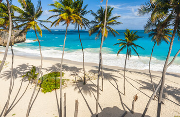 Bottom Bay beach in Barbados