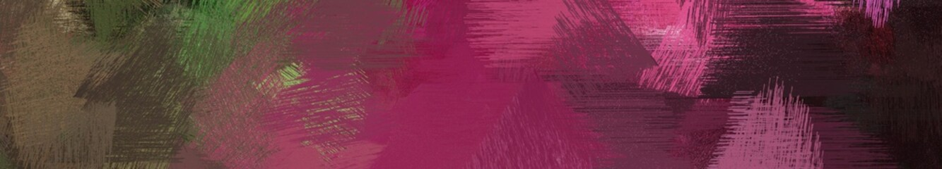 Papiers peints Grenat wide landscape graphic with abstract brush strokes background decoration with old mauve, mulberry and very dark pink. can be used for background, canvas or poster