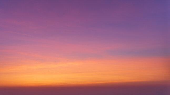 Purple sunrise sky - replacement sky