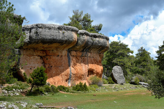 The Ships, stone figures in the Enchanted City of Cuenca