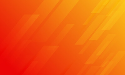 Tuinposter Rood Abstract minimal orange background with geometric panel