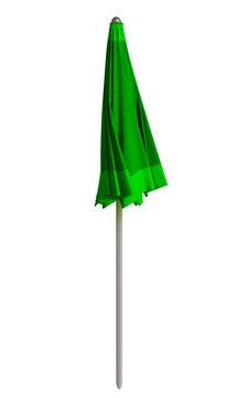 Beach umbrella closed - Green