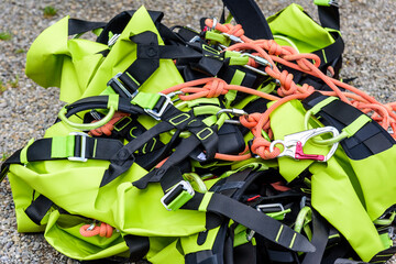 Canyoning-Equipment