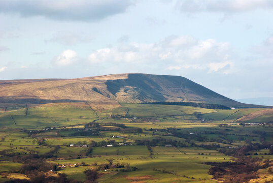 Pendle Hill, Lancashire, England, location of the notorious seventeenth century witch trials