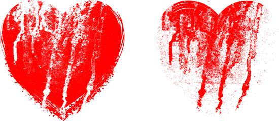 Herz vektor grunge