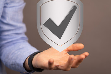 holding protection shield 3d attack