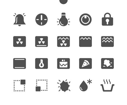 Oven Symbols Well-crafted Pixel Perfect Vector Solid Icons 30 2x Grid for Web Graphics and Apps. Simple Minimal Pictogram