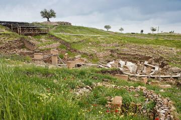 Gobekli Tepe archaeological site near Sanliurfa (Urfa), Turkey