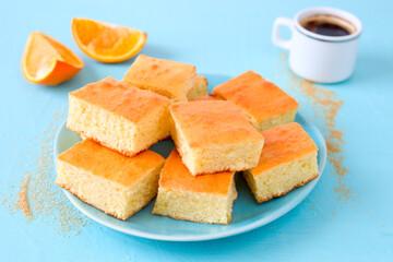 Orangen- Kuchen