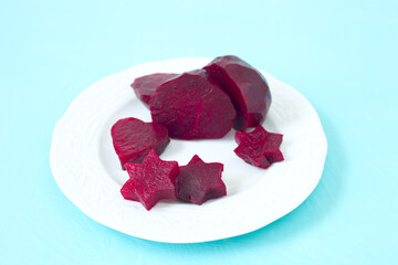 Rote- Bete- Sterne