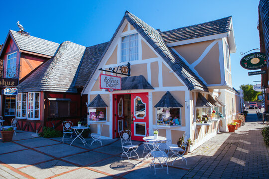 Town of Solvang in California USA