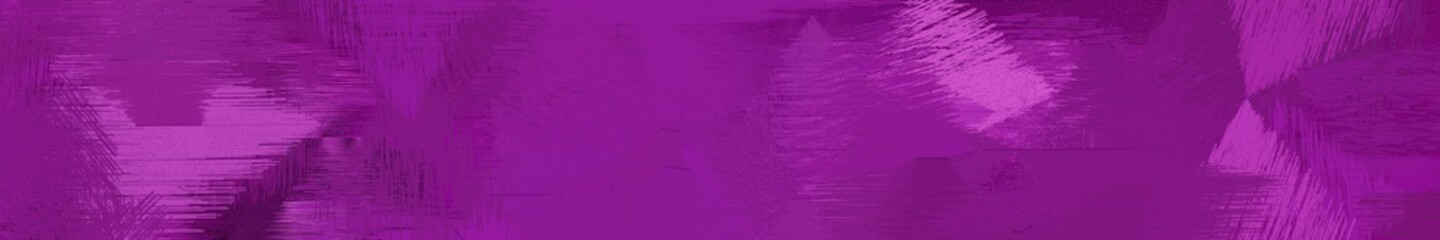 Poster Prune wide landscape graphic with artistic brush strokes background with dark magenta, medium orchid and very dark magenta. can be used for background, canvas or poster