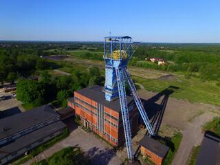 Nieczynna wieża szybowa