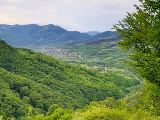 Salciua village in Apuseni mountains, Transylvania
